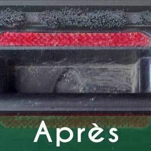 brosse d'aspirateur après nettoyage