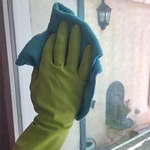 Comment nettoyer des vitres au chiffon