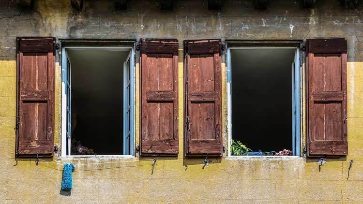 ouvrir ses fenêtres pour aérer