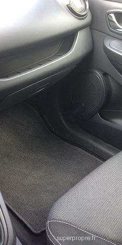 Intérieur de voiture tapis housse de siege et tableau de bord